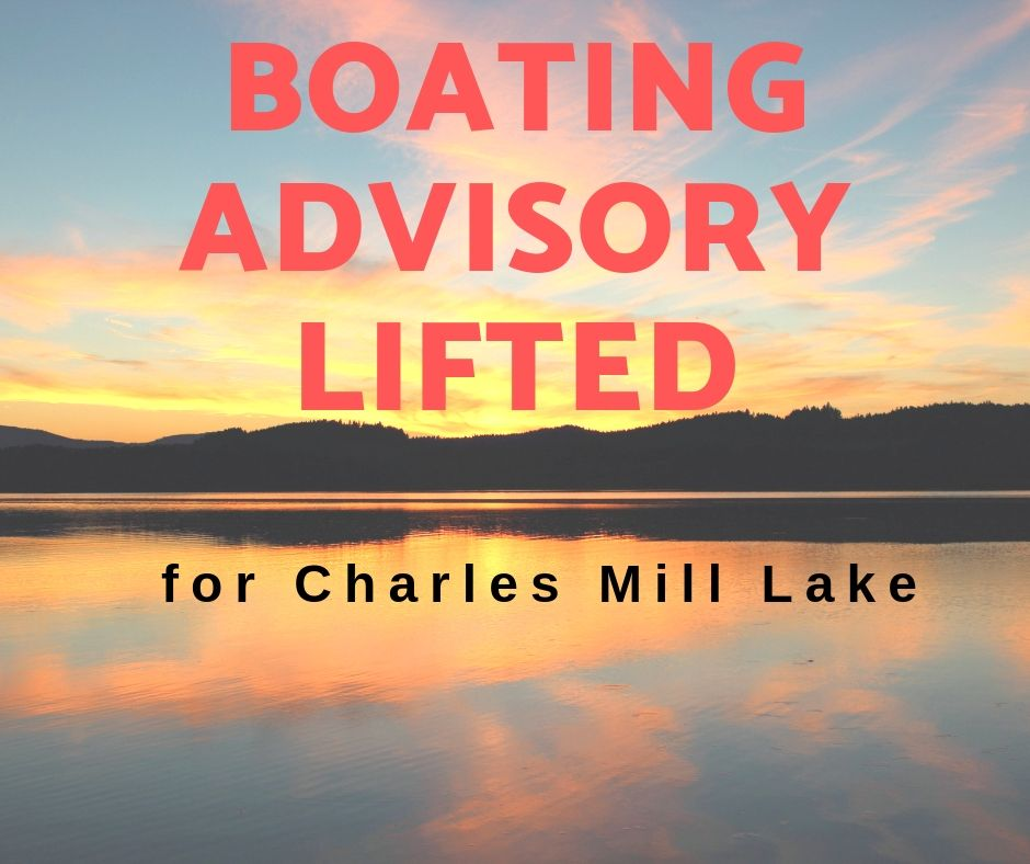 Boating Advisory Lifted for Charles Mill Lake