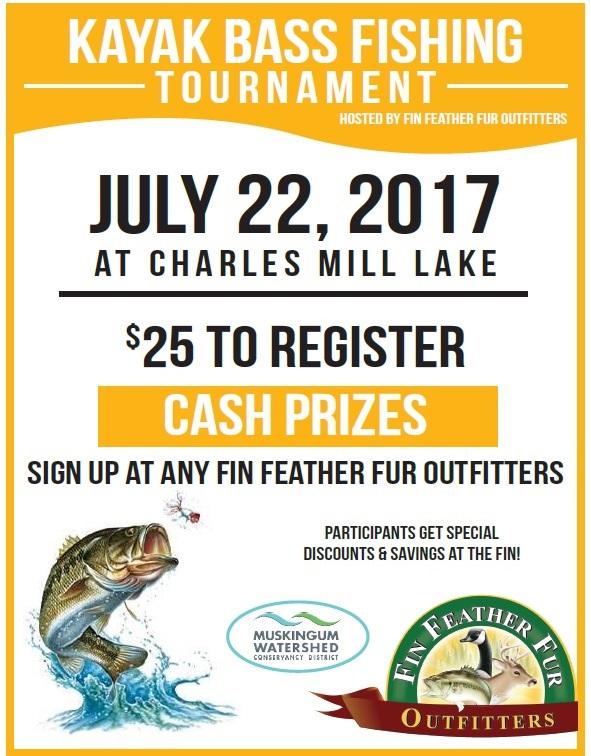 Kayak bass fishing tournament at charles mill lake mwcd for Kayak bass fishing tournaments
