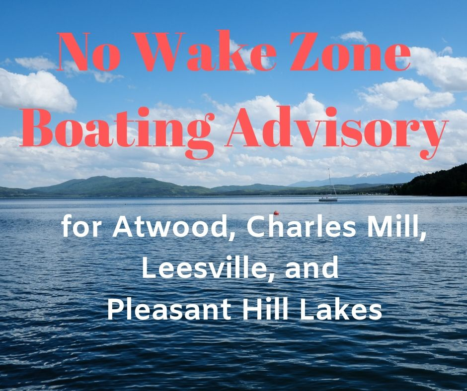 Boating Advisory on Charles Mill Lake Due to High Water