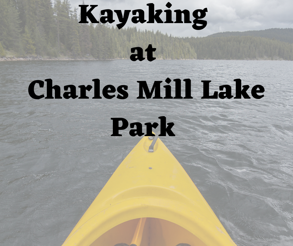 Kayaking at Charles Mill Lake Park